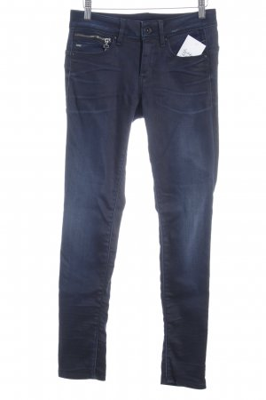 Gstar Röhrenjeans dunkelblau Casual-Look