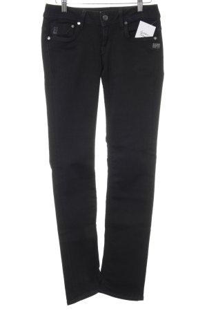 Gstar Jeans cigarette noir style décontracté
