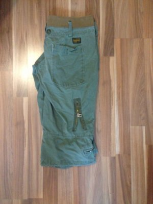 G-Star Cargo Pants green grey cotton