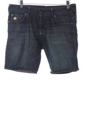 Gstar Shorts dunkelblau Washed-Optik