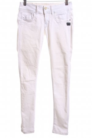 Gstar Skinny jeans wit casual uitstraling