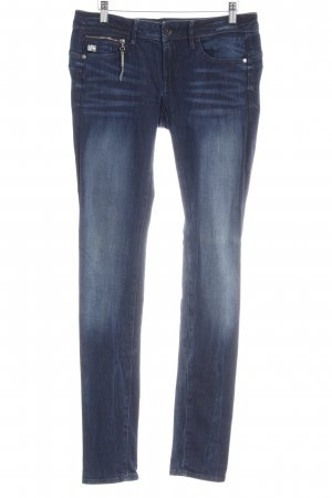 Gstar Skinny Jeans dunkelblau-himmelblau Casual-Look