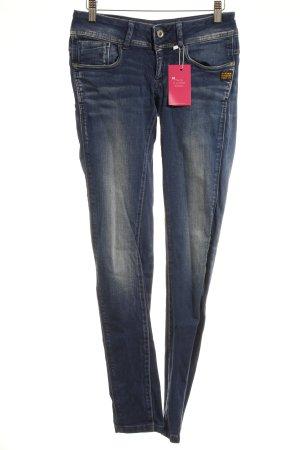Gstar Skinny Jeans dunkelblau Street-Fashion-Look