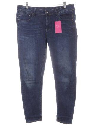 Gstar Skinny Jeans dunkelblau Urban-Look