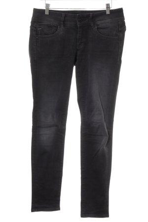 Gstar Skinny Jeans dunkelgrau Casual-Look