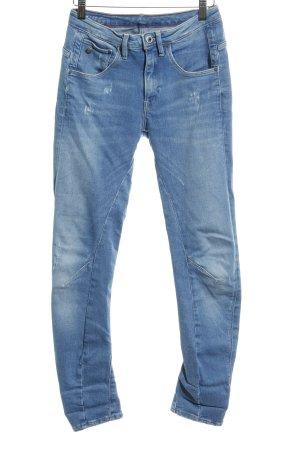 Gstar Skinny Jeans kornblumenblau Casual-Look