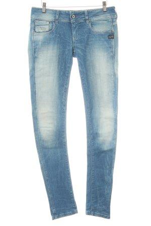 Gstar Skinny Jeans mehrfarbig Biker-Look