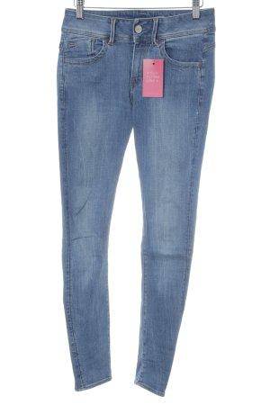 Gstar Skinny Jeans stahlblau Casual-Look