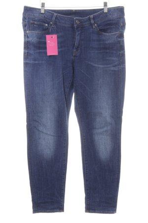 Gstar Slim Jeans dunkelblau-blau Jeans-Optik