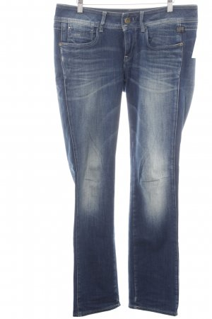 Gstar Slim Jeans dunkelblau Street-Fashion-Look
