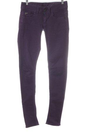 Gstar Slim Jeans dunkelviolett Casual-Look