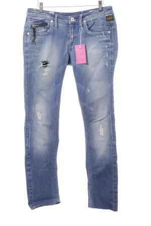 Gstar Slim Jeans himmelblau Casual-Look