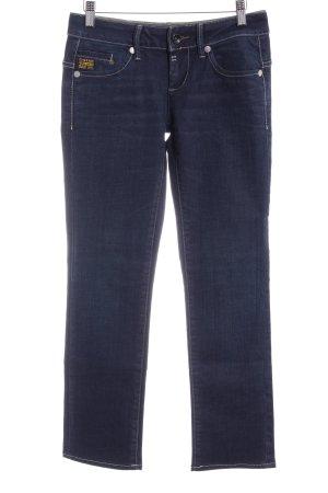 Gstar Straight-Leg Jeans dunkelblau Boyfriend-Look