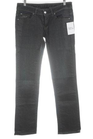Gstar Straight-Leg Jeans dunkelblau Casual-Look