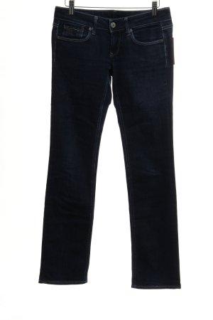 Gstar Straight-Leg Jeans dunkelblau schlichter Stil