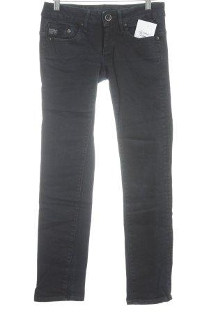 Gstar Straight-Leg Jeans dunkelblau-schwarz Casual-Look