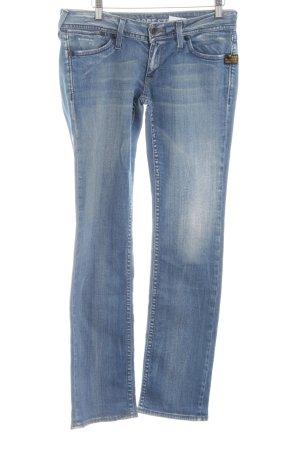 Gstar Straight-Leg Jeans blau Casual-Look
