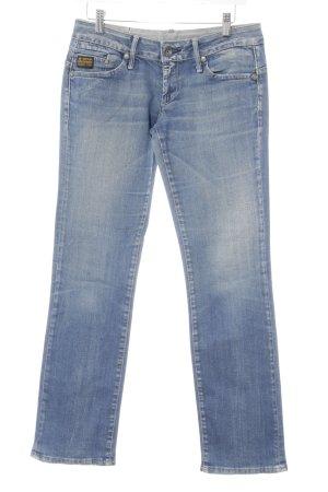 Gstar Straight-Leg Jeans hellblau Casual-Look