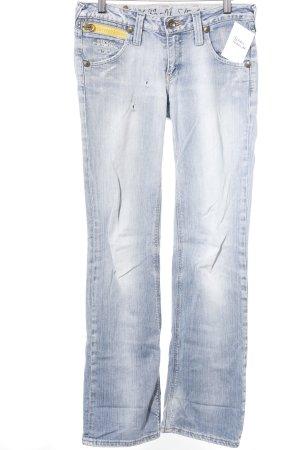Gstar Straight-Leg Jeans meliert Casual-Look