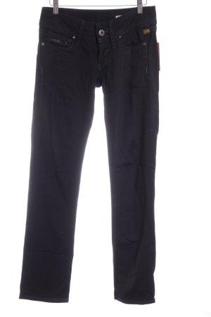 Gstar Straight-Leg Jeans schwarz Casual-Look