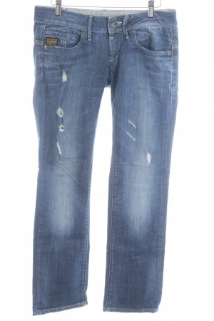 Gstar Straight-Leg Jeans stahlblau Casual-Look
