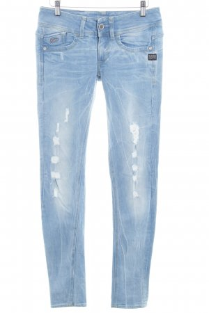 Gstar Stretch jeans azuur casual uitstraling