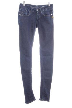 Gstar Pantalone elasticizzato blu scuro stile jeans
