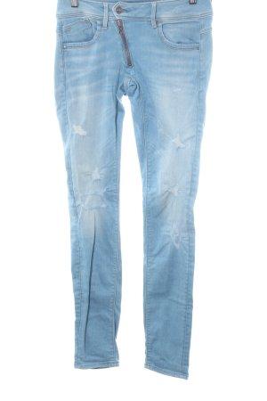 Gstar Stretchhose himmelblau Destroy-Optik