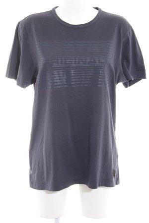 Gstar T-Shirt dunkelgrau Casual-Look