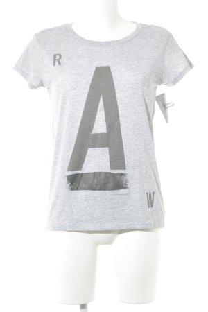 Gstar T-Shirt hellgrau Casual-Look