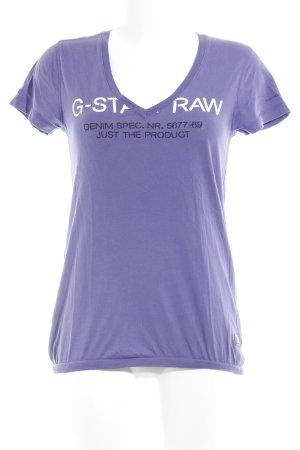 Gstar T-Shirt platzierter Druck Casual-Look