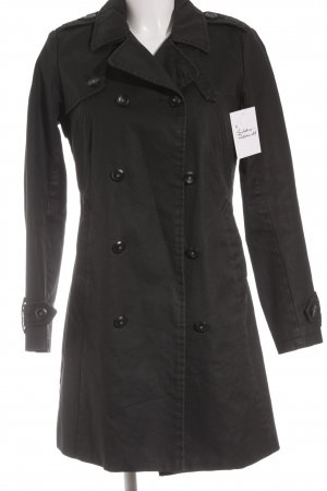 Gstar Trenchcoat schwarz Casual-Look
