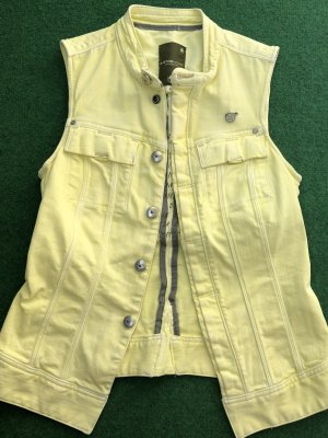 Gstar Denim Vest yellow