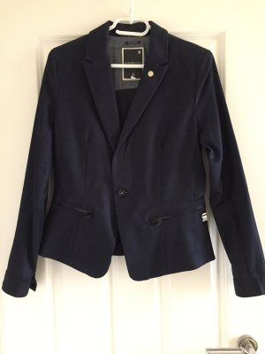 Gstar Denim Blazer dark blue cotton