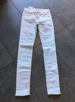 Gsus Five-Pocket Trousers white cotton
