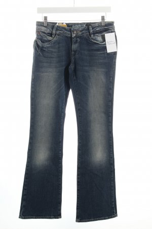 Gsus Boot Cut Jeans blau Casual-Look