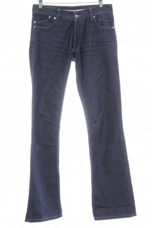Gsus Boot Cut Jeans dunkelblau Casual-Look