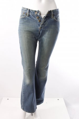 Gsus Bootcut Jeans blau