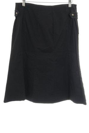 Gsus Jupe cargo noir Mélange de motifs style décontracté