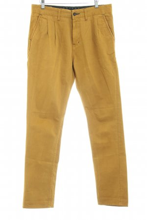 Gsus Chino donkergeel casual uitstraling