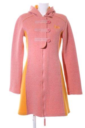 Gsus Hooded Coat pink-light orange casual look