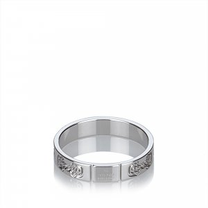 Gucci 18K White Gold Ring