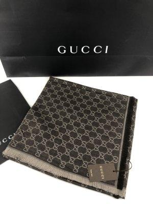 Gucci 2 Farbigen Schal Tuch 140x140 Neu