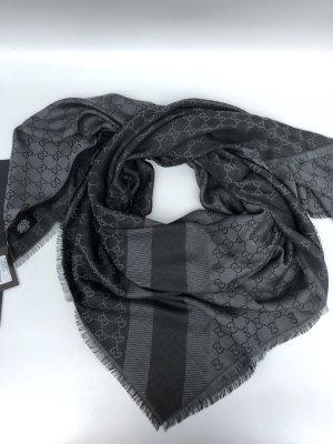 Gucci 2Farbigen Schal/Tuch 140x140 Wolle/Seide NEU