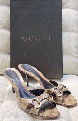 Gucci 38 Peeptoes Original mit Rechnung