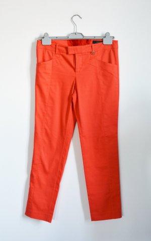 Gucci Low-Rise Trousers neon orange mixture fibre