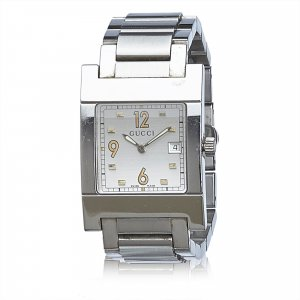 Gucci 7700 Mens Silver Watch