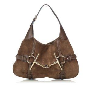 Gucci 85th Anniversary Leather Hobo Bag