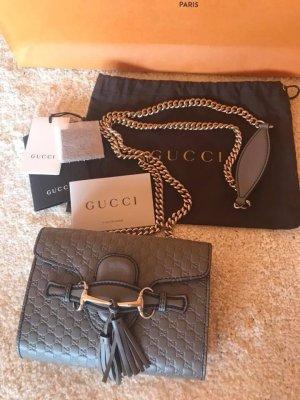 Gucci Borsa a spalla grigio