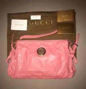Gucci Borsa clutch rosa-oro